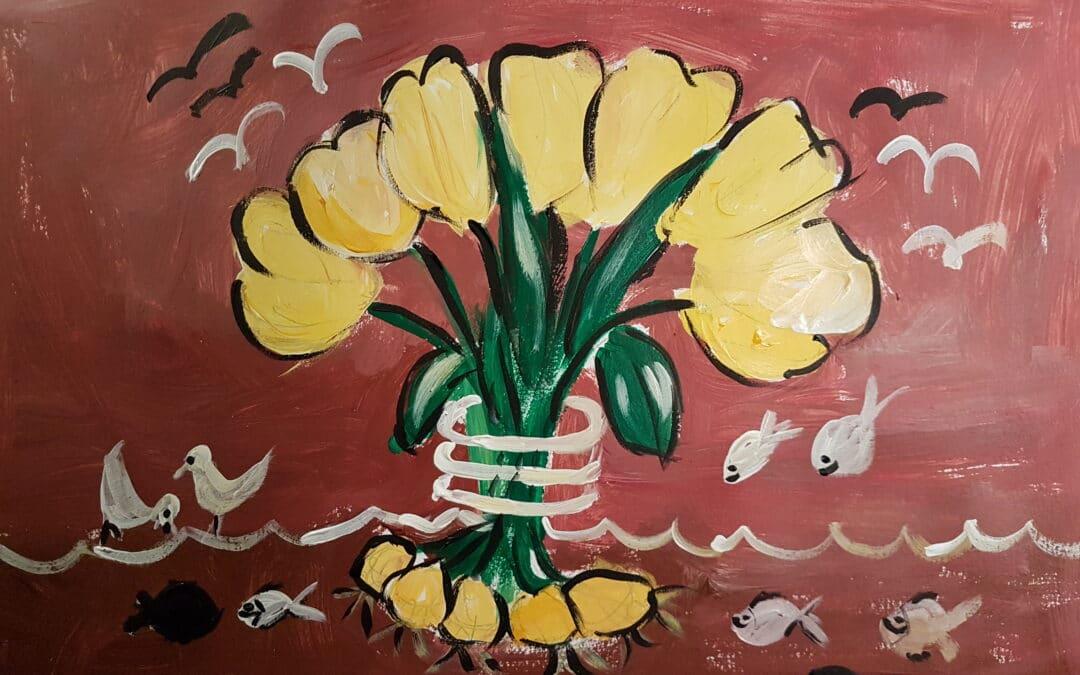 Man skal ikke hive i tulipanerne for at få dem til at gro
